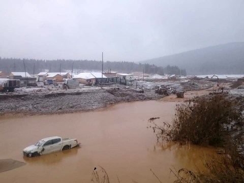 Dam collapses leaving many dead and injured at gold mine
