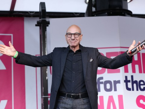 Patrick Stewart says 'nothing democratic' about Brexit referendum at People's Vote rally