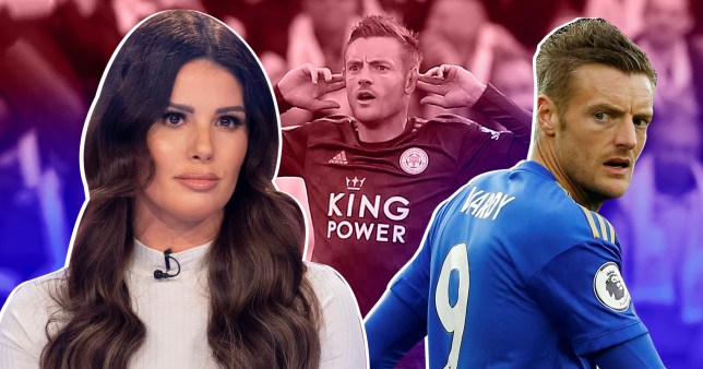 Jamie Vardy mocked with chants about wife Rebekah amid Coleen Rooney row Picture: Getty - Rex