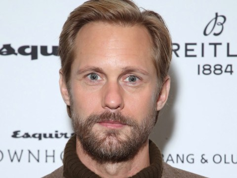 Alexander Skarsgard rocks lush beard as he talks reunion with Big Little Lies co-star Nicole Kidman