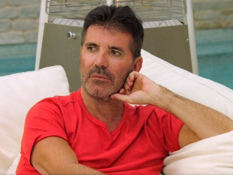 The X Factor Celebrity fans baffled as Simon Cowell dares to wear something other than a white shirt and black trousers
