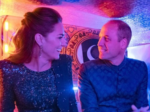 William and Kate giggle together as they get into tuktuk in new video