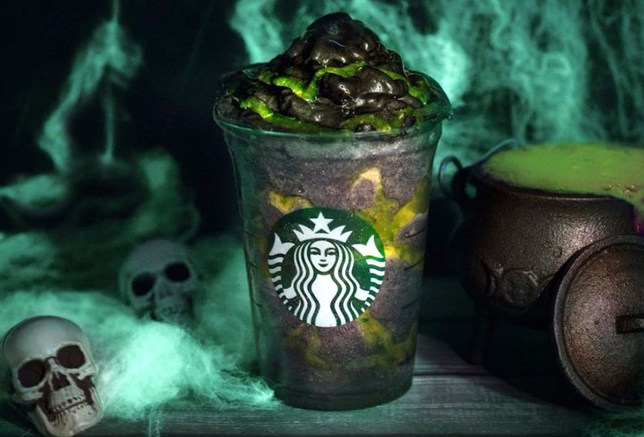 Starbucks has released a vegan black Phantom Frappuccino for Halloween, and it's available in the UK now