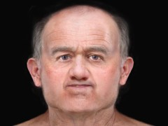 Face of man who lived 600 years ago recreated after skeleton found in Scotland