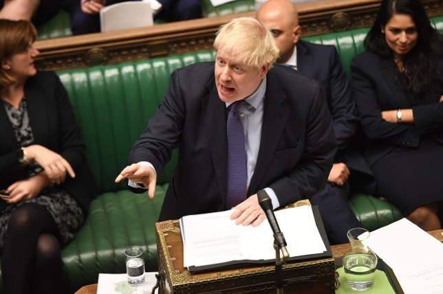 Boris Johnson's Brexit plan passes through Commons with majority of 30
