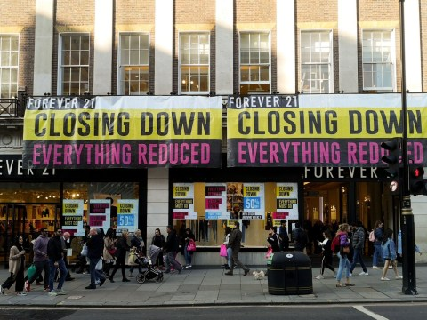Last-ditch effort for Forever 21 as it faces becoming latest high street casualty