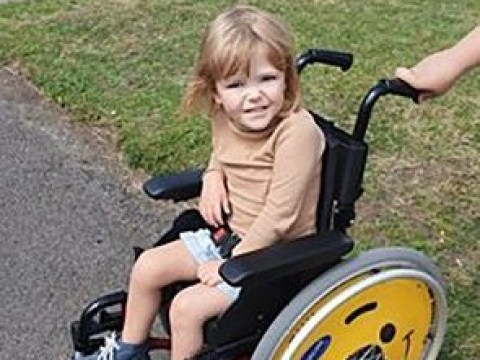 Girl, 4, in wheelchair told she's a 'drain on society' and shouldn't be alive