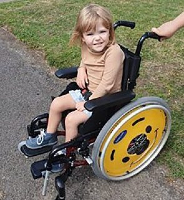 south beds news agency-luton-(fairleys)...quinn ross From: Fairley of Luton South Beds News Agency/Fairley of Luton Tel: 01582 572222 Email: southbedsnews@btconnect.com 23 10 2019 PICTURE OF WHEELCHAIR GIRL QUINN, 4, TO GO WITH STORY A four year old girl has been verbally abused because she was in a wheelchair. Little Quinn Ross was on her way to school with her mum and big brother when a stranger hurled abuse at her in an alleyway. Quinn suffers from a rare condition called Perthes??? disease, which affects the top of the thigh bone in the hip joint. ???It was appalling,??? said her mum Emma, 32. ???The man was yelling in her face, saying she shouldn???t have been born, she was a drain on the NHS, a drain on society, and that I should have had her aborted if I???d known she was going to be disabled.??? ???I pushed him away, power-walked off to school and it was the school who phoned the police.??? Herts Police day the little girl is now having counselling to help her recover from the incident which happened last month in Cheshunt. She???s also had the support of specialist police officers. Quinn lives with mum Emma and her three brothers, Tom, 11, Alex, 10 and Oscar, seven in Cheshunt. ???Quinn is now scared of men and doesn???t like going out in her wheelchair,??? explained Emma. She went on: ???It left her feeling very angry at the world, but we???ve had a lot of support. I wasn???t going to call the police but I???m so glad we did. All the officers have been fantastic, rallying around. ???They organised a family ticket for Paradise Wildlife Park for her, but she???s donated it to the raffle of a fundraising event we???re holding this weekend.??? She said son Alex, who was pushing Quinn in her Winnie the Pooh wheelchair, was also traumatised by what happened. ???The support Quinn and my son have had from the police has been amazing. We decided we didn???t want to prosecute, but I???m so glad we reported the incident. I would recommend an