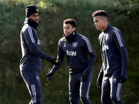 Manchester United handed Jesse Lingard injury boost ahead of Partizan clash – but David de Gea misses training