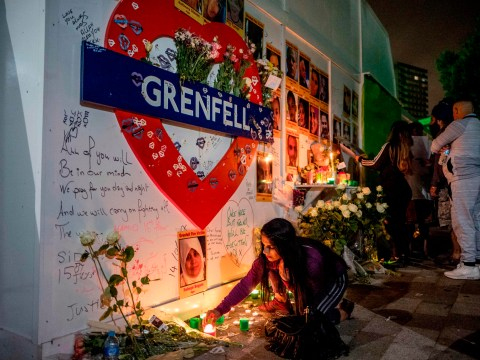 When was the Grenfell fire and how many people died in the disaster?