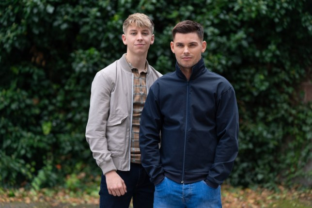 Hollyoaks STE ESCAPES TO MEET WITH PREVENT EMBARGOED UNTIL 5 NOVEMBER