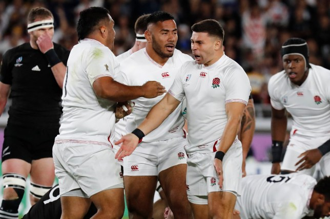 England will compete in next weekend's World Cup final after a stunning win over New Zealand