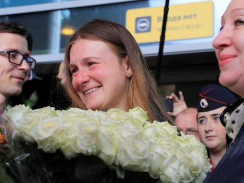 Female Russian spy released from US prison and deported