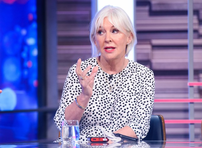 Strict Embargo - no use before 21:00 GMT Wednesday 17th July 2019 Mandatory Credit: Photo by Jonathan Hordle/REX (10338614ap) Nadine Dorries 'Peston' TV Show, Series 2, Episode 26, London, UK - 17 Jul 2019