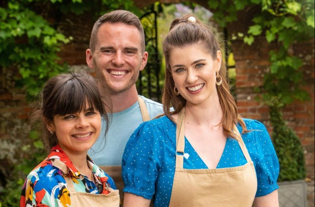 Embargoed to 0001 Tuesday October 29 Undated handout photo issued by C4/Love Productions of The Great British Bake Off 2019 finalists (left to right) Steph, David, Alice. PA Photo. Issue date: Tuesday October 29, 2019. Issue date: Tuesday August 20, 2019. See PA story SHOWBIZ BakeOff. Photo credit should read: C4/Love Productions/Mark Bourdillon/PA Wire NOTE TO EDITORS: This handout photo may only be used in for editorial reporting purposes for the contemporaneous illustration of events, things or the people in the image or facts mentioned in the caption. Reuse of the picture may require further permission from the copyright holder.