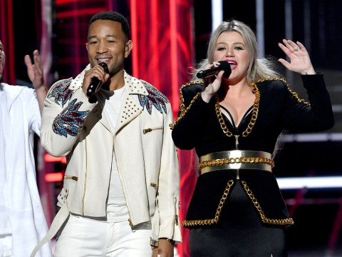 What Christmas classic have Kelly Clarkson and John Legend given a #MeToo remake of and what are the new lyrics?