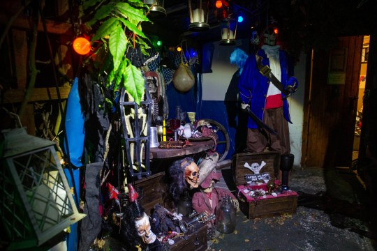 Granddad spends £13,000 transforming home into haunted house for charity