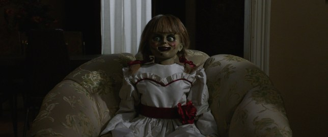 Annabelle Doll Escape from the Warren Museum