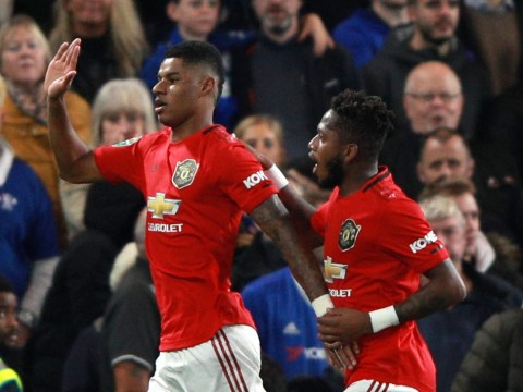 Chelsea 1-2 Manchester United: Marcus Rashford's stunning free-kick sends Blues crashing out of Carabao Cup