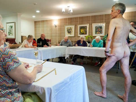 Care home welcomes naked male model after residents request a nude drawing class
