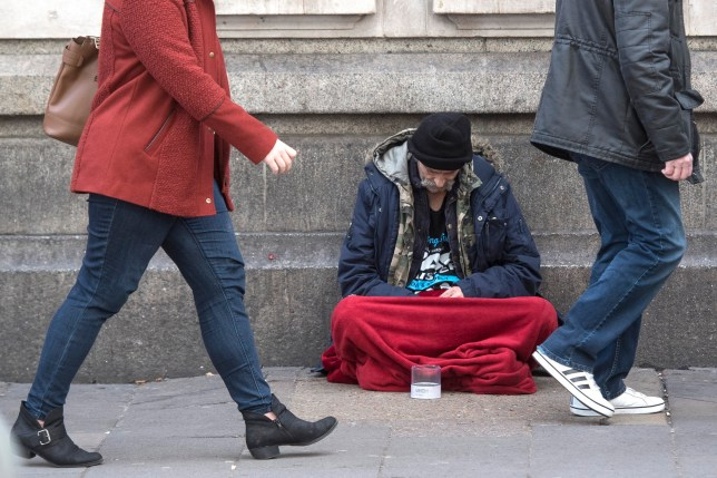 The issue has been branded a 'national scandal' by a homelessness charity (Picture: PA)
