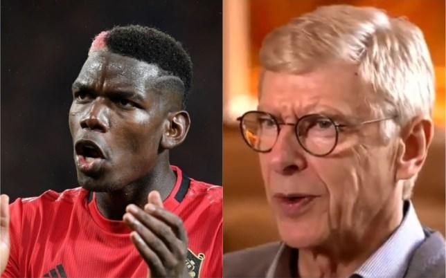 Arsene Wenger explains why Paul Pogba is struggling at Manchester United