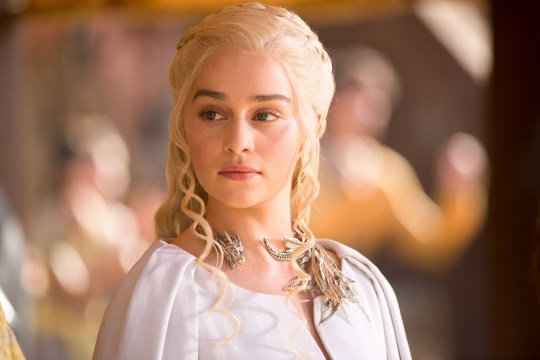Game of Thrones,Series 5,Episode 9,Dance of Dragons,Sky Atlantic. Emilia Clarke as Daenerys Targaryen