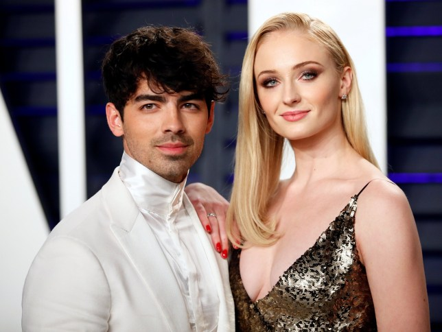 FILE PHOTO: 91st Academy Awards ??? Vanity Fair ??? Beverly Hills, California, U.S., February 24, 2019 ??? Joe Jonas and Sophie Turner. REUTERS/Danny Moloshok/File Photo
