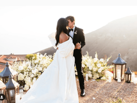 Cassie tied the knot with Alex Fine in an intimate wedding officiated by Friday Night Lights' Peter Berg