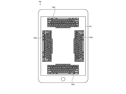 Apple invents incredible iPhone touchscreen keyboard you can 'feel'