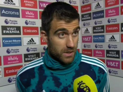 Sokratis disagrees with Granit Xhaka over his reaction to Arsenal fans
