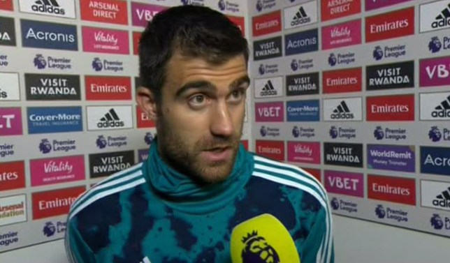 Sokratis Papastathopoulos says Granit Xhaka was wrong to react to Arsenal fans booing him during the 2-2 draw with Crystal Palace