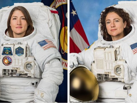 Nasa conducts historic all-female spacewalk outside International Space Station