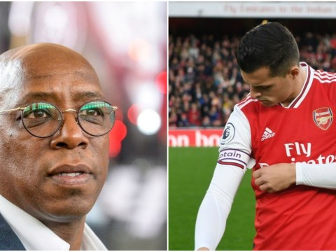 Furious Ian Wright blasts Granit Xhaka after Arsenal captain tells fans to 'f**k off'
