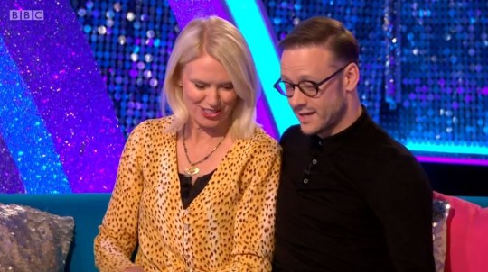 Anneka Rice and Kevin Clifton