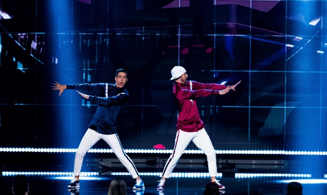 Twist and Pulse perform on the final of Britain's Got Talent: The Champions