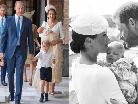 Gown worn by Archie, Louis, George and Charlotte was dyed with Yorkshire Tea