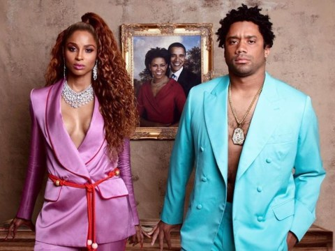 Ciara and Russell Wilson transform into Beyonce and Jay Z for Halloween and it's too accurate