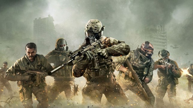 Call Of Duty: Mobile key art