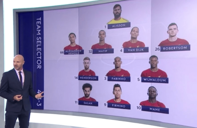 Danny Mills claimed no Man Utd players would get into Liverpool's first XI