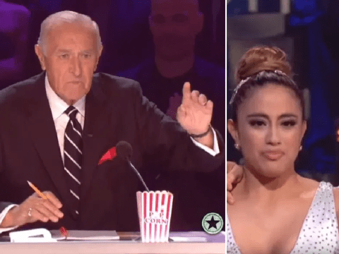 Len Goodman harshly warns Fifth Harmony's Ally Brooke 'don't touch me again' on Dancing With the Stars