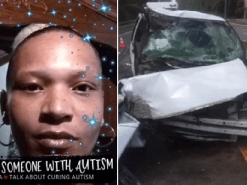 Mother 'told 4 kids to unbuckle seat belts and hold out hands so she could crash car and kill them'
