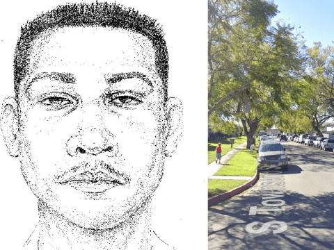 Stranger abducted girl, 6 as she played outside her house in broad daylight then raped her