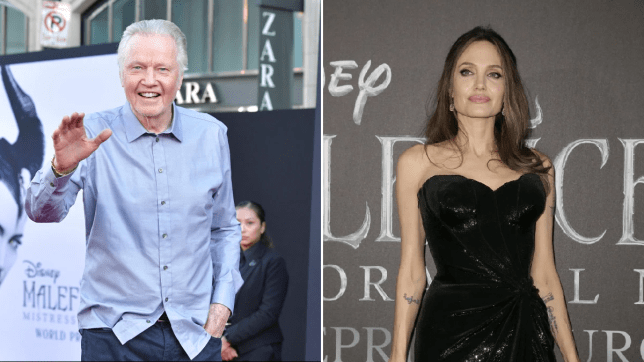 Jon Voight grateful to spend five minutes with daughter Angelina Jolie