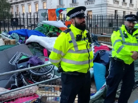 'Police seize disabled activists' wheelchairs' ahead of Extinction Rebellion protests