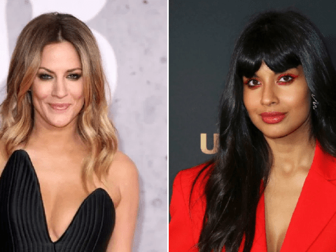 Caroline Flack slams Jameela Jamil's criticism of new show as stars continue war of words