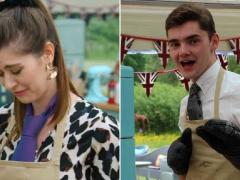 Bake Off fans emotional as semi-final bakers wear ties in tribute to Henry Bird
