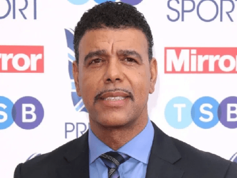 Unbelievable Jeff! Chris Kamara swaps football stands for recording studio as he releases Christmas album