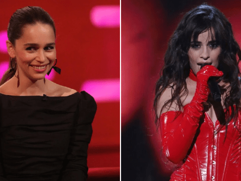 Camila Cabello gives Game Of Thrones star Emilia Clarke the perfect pressie for the Mother of dragons