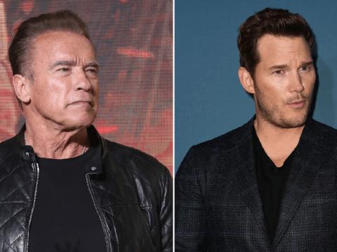 Arnold Schwarzenegger jokes he felt intimidated by son-in-law Chris Pratt